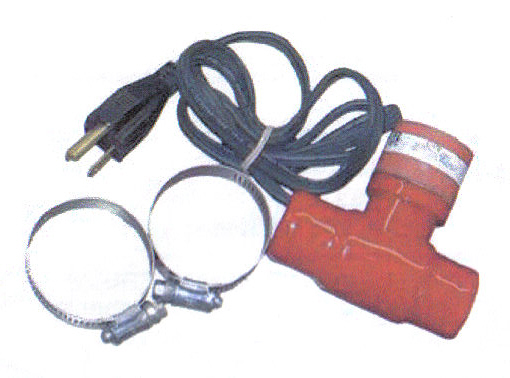 Lower Radiator Hose Engine Heater